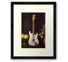 Strat Painting Framed Print