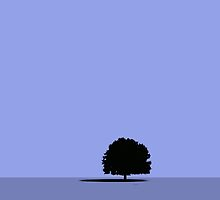 Lonely tree by Afonso Azevedo Neves