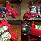 Red powdercoat bulldog style by LastChance