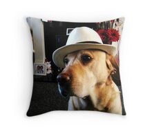 Mr Casual Throw Pillow