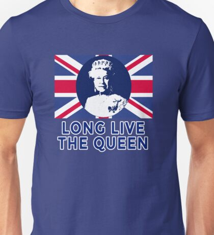 Queen Elizabeth II Long Live the Queen Unisex T-Shirt