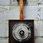 Rusty timer dial by Ben Jones