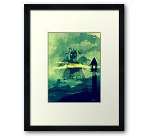 Dragonite at Bill's Lighthouse Framed Print