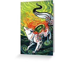 Okami Greeting Card