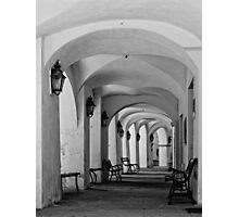 Gallery in b&w Photographic Print