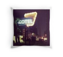 Noho Hotel Motel Throw Pillow