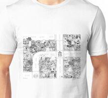 Doodle Map A Unisex T-Shirt