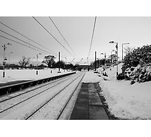 No Trains Again Photographic Print