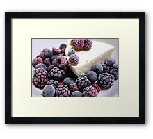 Berry Berry Nice Framed Print
