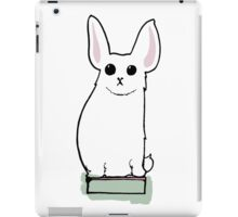 His name is Boris and he likes books - Victorian illustration iPad Case/Skin