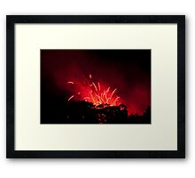 Up in the Air I. Framed Print