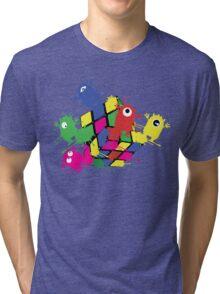 Cube monsters Tri-blend T-Shirt
