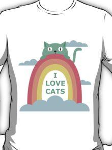 I love cats! T-Shirt