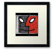 spiderman finder icon Framed Print