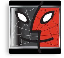 spiderman finder icon Canvas Print