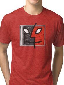spiderman finder icon Tri-blend T-Shirt