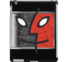 spiderman finder icon iPad Case/Skin