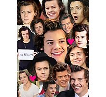Harry Styles Collage  Photographic Print