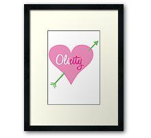 OLICITY Framed Print