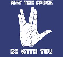 May The Spock Be With You Trekkie Vulcan Salute T Shirt Unisex T-Shirt