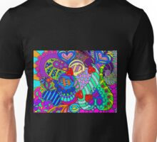 rainbow mural  Unisex T-Shirt