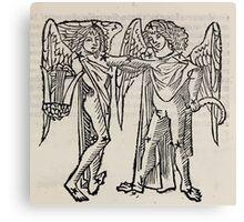 Hic Codex Auienii Continent Epigrama Astronomy Rufius Festivus Avenius 1488 Astronomy Illustrations 0141 Constellations Canvas Print