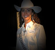 Miss Rodeo Okotoks 2010 - 2011 Kenna Lockwood by Al Bourassa