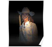 Miss Rodeo Okotoks 2010 - 2011 Kenna Lockwood Poster