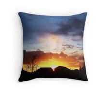 Follow The Sunbeam Throw Pillow