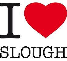 I ♥ SLOUGH Photographic Print
