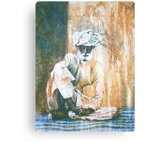 Village Elder, Canvas Print