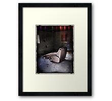 Living Room Recliner Framed Print