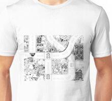 Doodle Map B Unisex T-Shirt