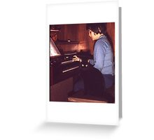 Musician and Friend Greeting Card
