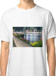 View of Brisbane City at night Classic T-Shirt