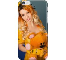 Garfield and Pooky iPhone Case/Skin