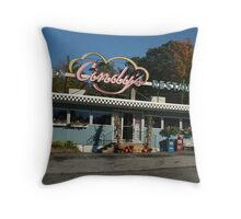 Cindy's Diner Throw Pillow