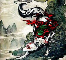 Okami Wolf by rengarrr