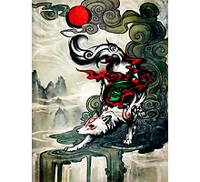 Okami Wolf Photographic Print
