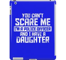 Police Officer And Daughter iPad Case/Skin