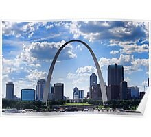 St Louis City Skyline. Poster