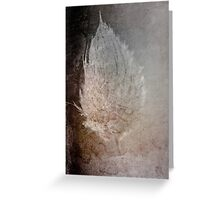 Experiment with textures Greeting Card
