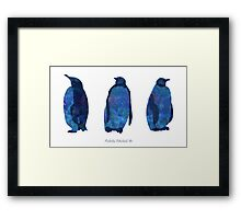 The Penguins Framed Print