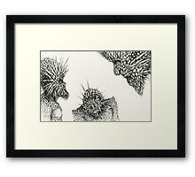 """""""Past, Present, and Future"""" Framed Print"""