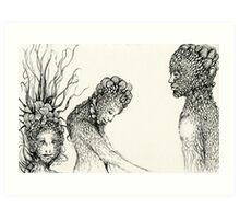 """People of Earth"" Art Print"