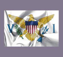 United States Virgin Islands Flag Kids Tee