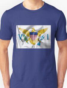 United States Virgin Islands Flag Unisex T-Shirt