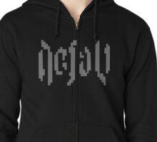 Defalt Logo Zipped Hoodie