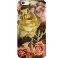 Pastel colours bouquet. iPhone Case/Skin