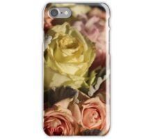 Pastel colours bouquet. iPhone Case/Skin